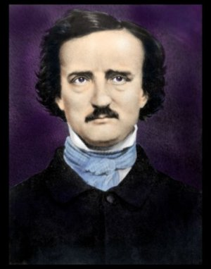 Painting of Poe by Matthew Brady